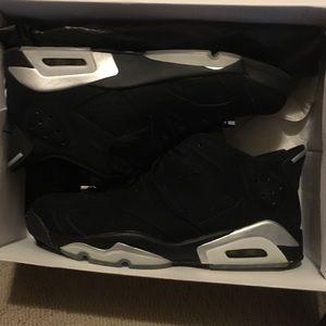Jordan 6 chrome size 11